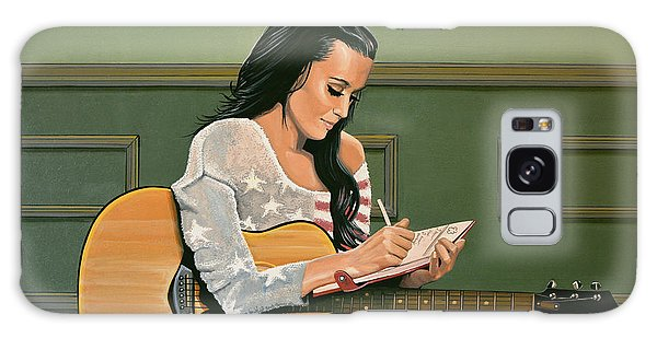 Fireworks Galaxy Case - Katy Perry Painting by Paul Meijering