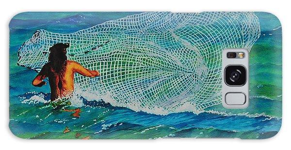 Kauai Fisherman Galaxy Case