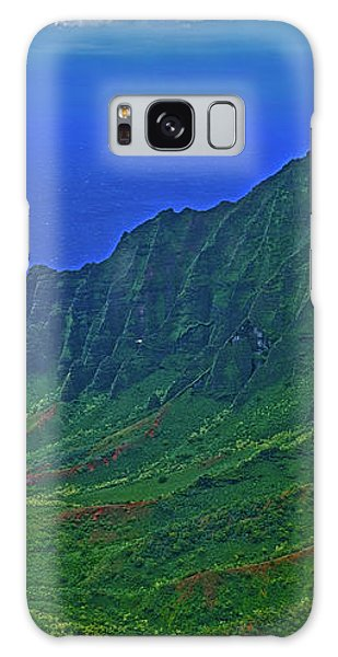 Kauai  Napali Coast State Wilderness Park Galaxy Case