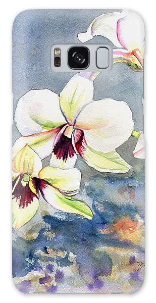 Kauai Orchid Festival Galaxy Case by Marionette Taboniar