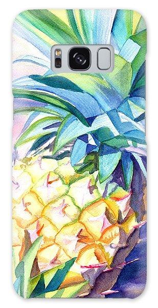 Kauai Pineapple 3 Galaxy Case by Marionette Taboniar