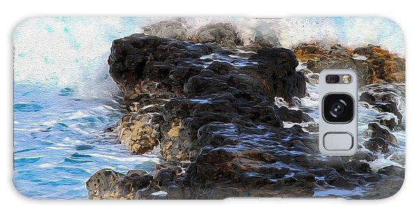 Kauai Rock Splash Galaxy Case
