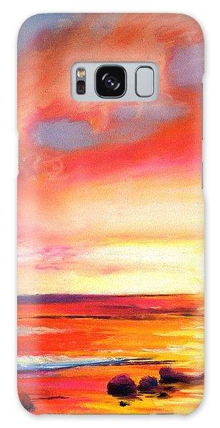 Kauai West Side Sunset Galaxy Case by Marionette Taboniar