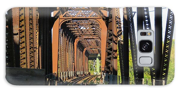 Kaw Point Railroad Bridge Galaxy Case