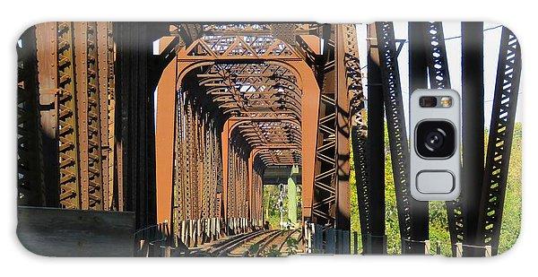 Kaw Point Railroad Bridge Galaxy Case