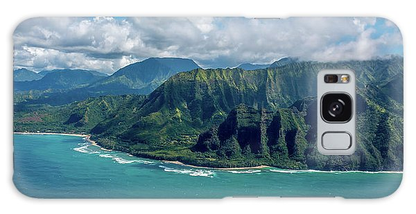Kawaii Na Pali Coast  Galaxy Case