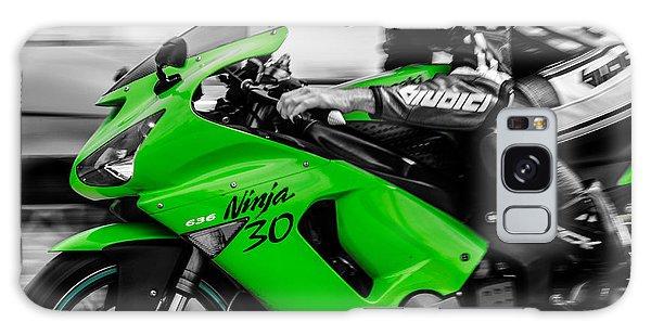Kawasaki Ninja Zx-6r Galaxy Case by Andrea Mazzocchetti