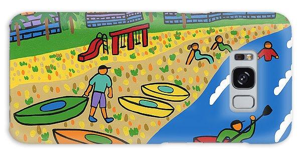 Kayak Beach - Cedar Key Galaxy Case