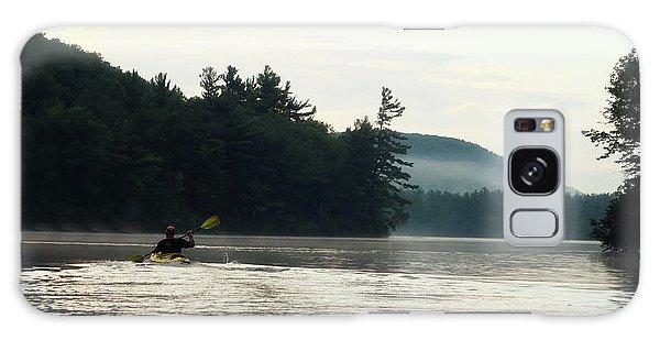 Kayak In The Fog Galaxy Case