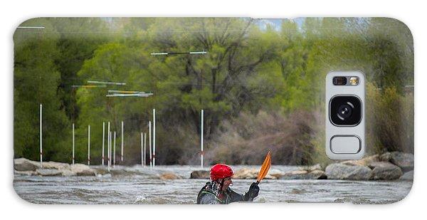 Kayaker On The Arkansas Galaxy Case