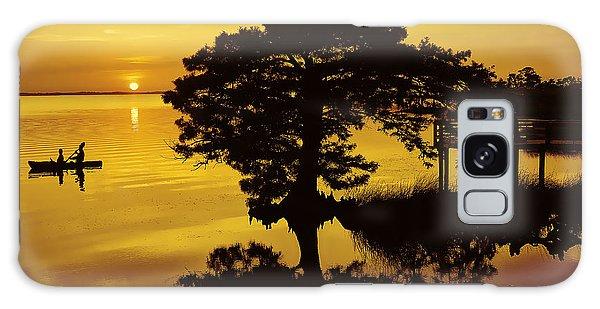 Kayaking At Sunset 2 Obx Galaxy Case