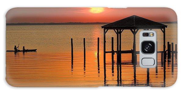 Kayaking At Sunset Obx Galaxy Case