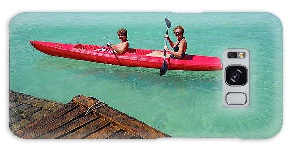 Exploramum Galaxy Case - Kayaking Perfection 1 by Exploramum Exploramum