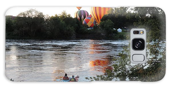 Kayaks And Balloons Galaxy Case
