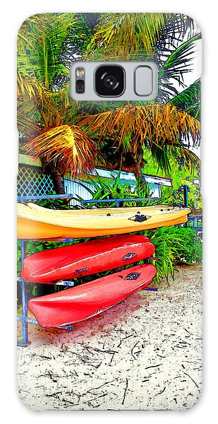 Kayaks In Paradise Galaxy Case