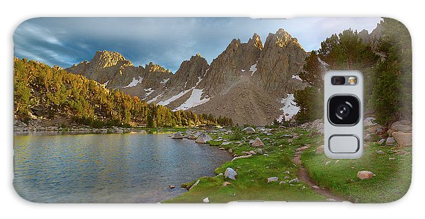Kings Canyon Galaxy Case - Kearsarge Lakes Trail by Brian Knott Photography