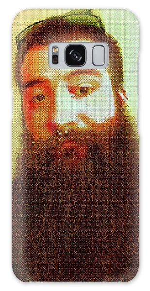 Galaxy Case featuring the digital art Keefer Mosaic by Shawn Dall