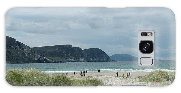 Keel Beach Achill  Galaxy Case