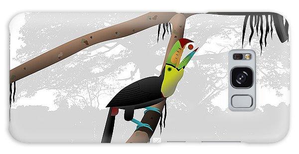 Keel-billed Toucans Galaxy Case