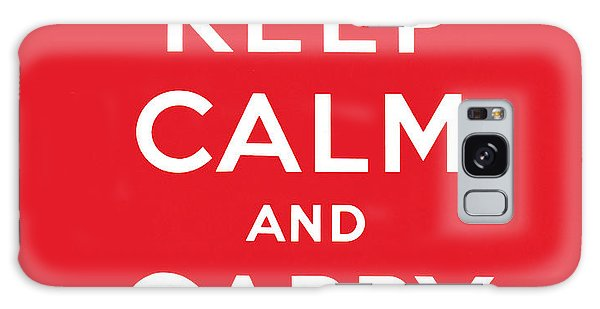 English Galaxy Case - Keep Calm And Carry On by English School