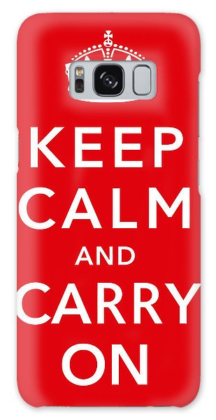 Ww2 Galaxy Case - Keep Calm And Carry On by War Is Hell Store
