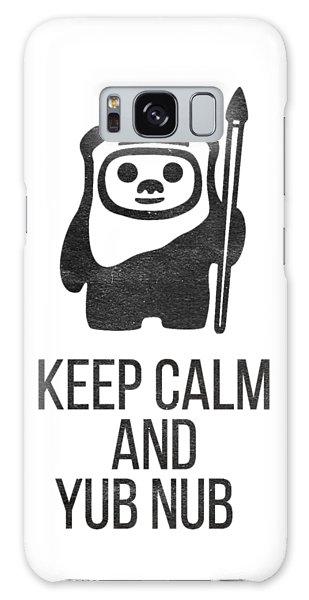 Keep Calm And Yub Nub Galaxy Case