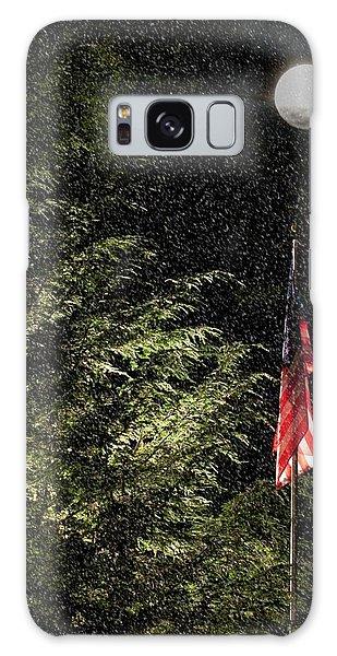 Keeping America  Illuminated.  Galaxy Case