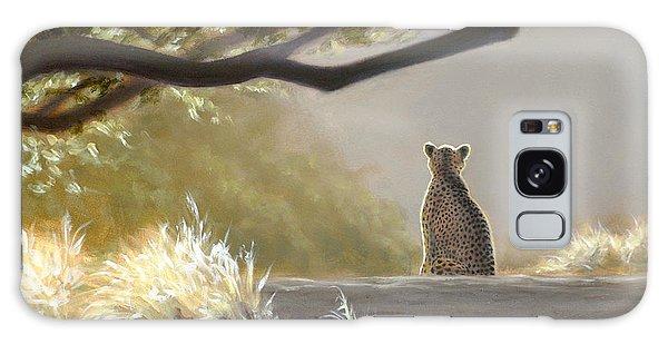 Keeping Watch - Cheetah Galaxy Case