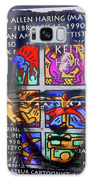 Keith Haring  Galaxy Case