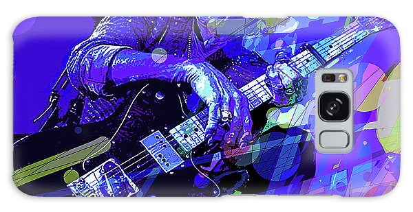 Keith Richards Blue Galaxy Case