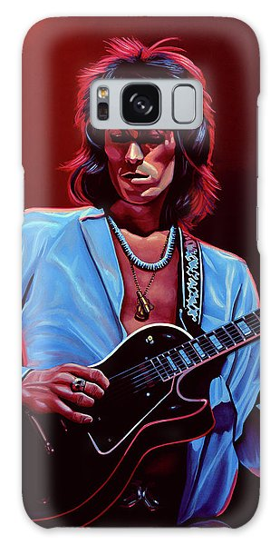 Musicians Galaxy Case - Keith Richards The Riffmaster by Paul Meijering