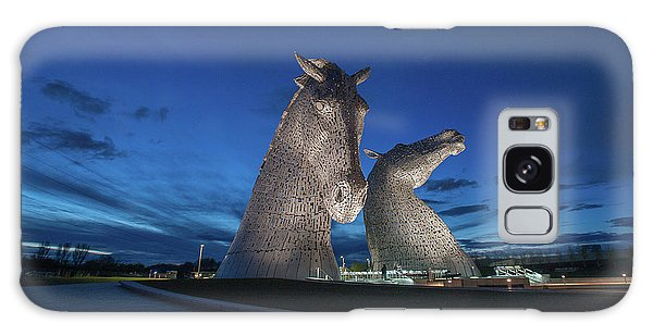 Kelpies  Galaxy Case by Terry Cosgrave