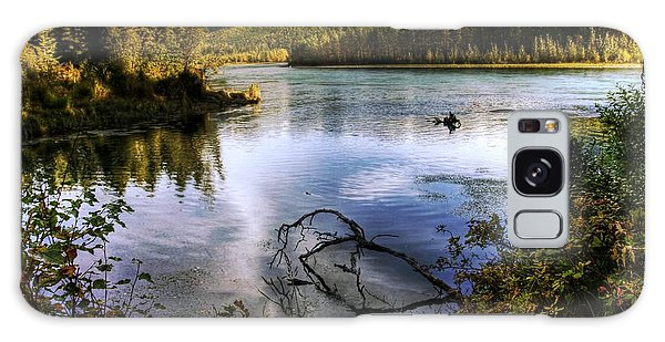 Kenai River In Fall Galaxy Case