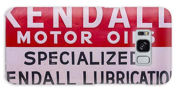 Kendall Motor Oils Sign Galaxy Case