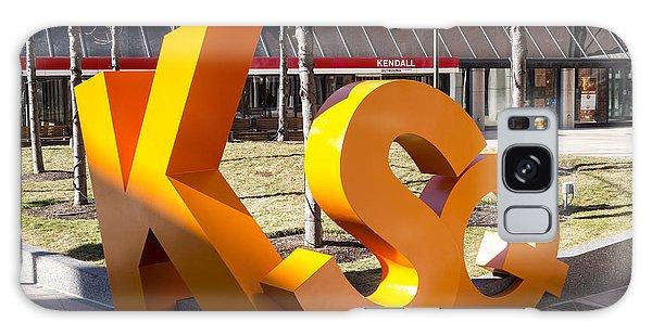 Kendall Square Sign Cambridge Ma Galaxy Case
