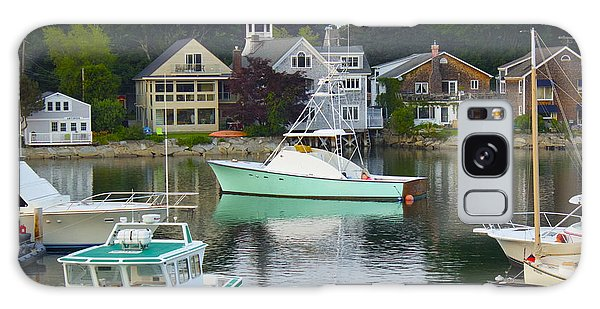 Kennebunkport Harbor Galaxy Case by Alice Mainville