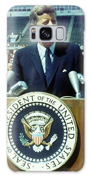 Kennedy At Rice University Galaxy Case