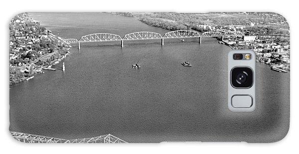 Kennedy Bridge Construction Galaxy Case