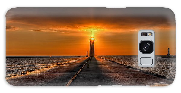 Kenosha Lighthouse Beacon Square Galaxy Case