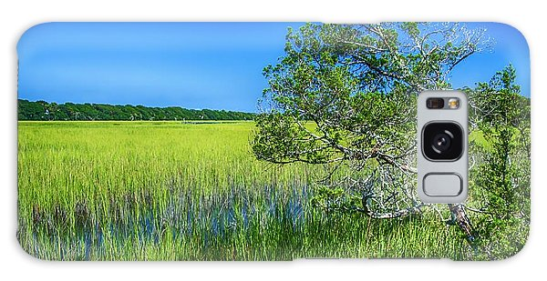 Kent Mitchell Nature Trail, Bald Head Island Galaxy Case