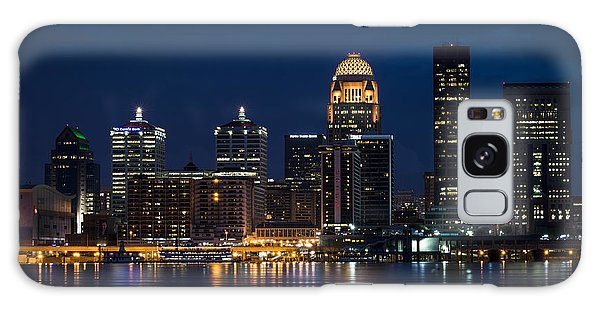 Louisville At Night Galaxy Case