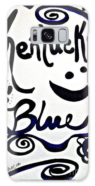 Kentucky Blue Galaxy Case