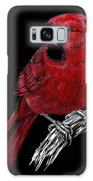 Kentucky Cardinal Galaxy Case