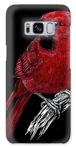 Kentucky Cardinal Galaxy Case