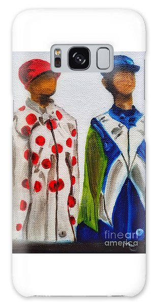 Kentucky Derby Jockey Mannequins Galaxy Case