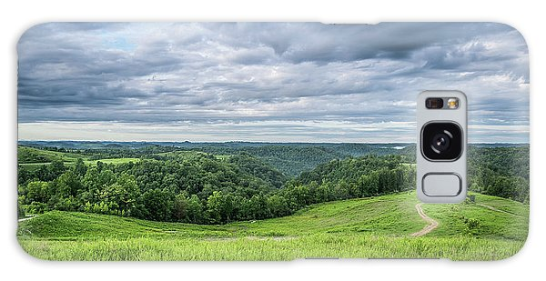 Kentucky Hills And Clouds Galaxy Case