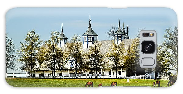 Revised Kentucky Horse Barn Hotel 2 Galaxy Case by Randall Branham