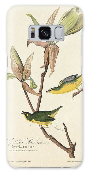 Kentucky Warbler Galaxy Case by Rob Dreyer