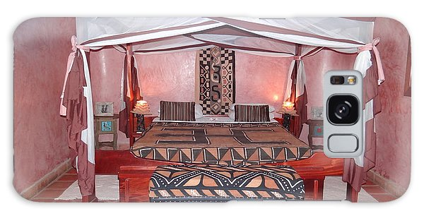 Kenyan African Traditional Double Bed Galaxy Case