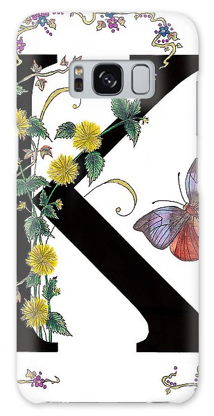 Kerria Japonica And Koh-i-noor Butterfly Galaxy Case by Stanza Widen